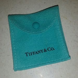Tiffany & Co. Accessories - Suede Tiffany & Co. jewelry pouch